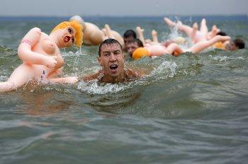Rafting na nafukovacích pannách