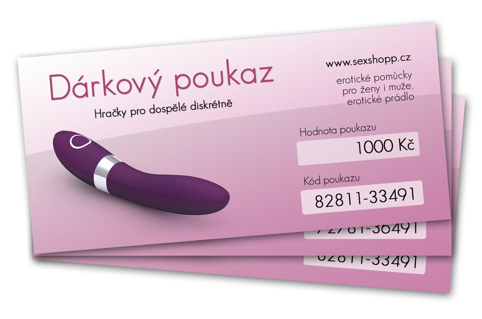 Vyhlášení vítěze soutěže o poukaz do sexshopu na 1000 Kč