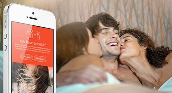 Aplikace, která vám najde partnera do trojky