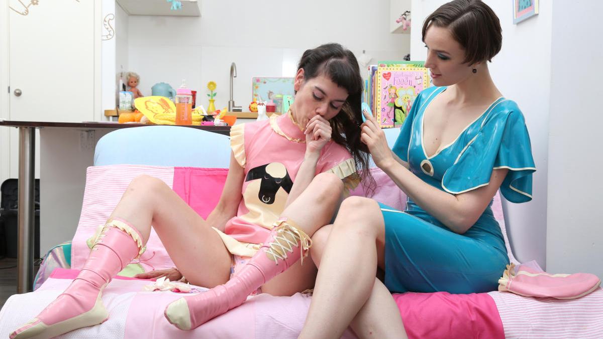 BDSM techniky pro pokročilé 3/7 – hry na dětičky