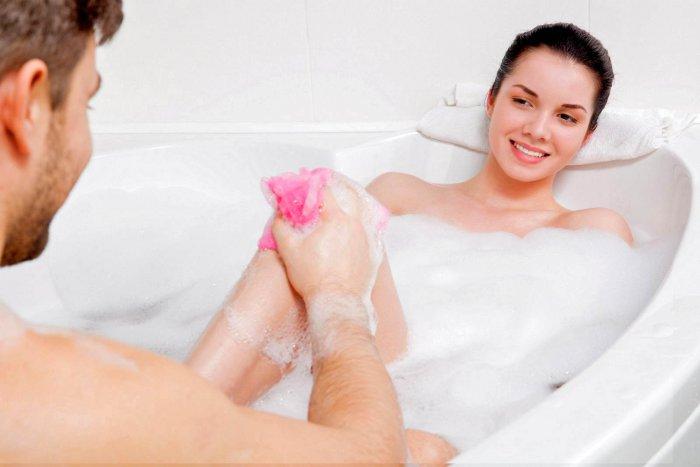 Jak ji partnerce důkladně umýt