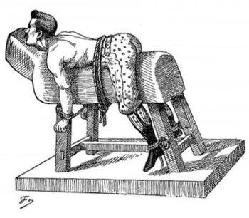 Spanking – polohy pro výprasky a trestné lavice