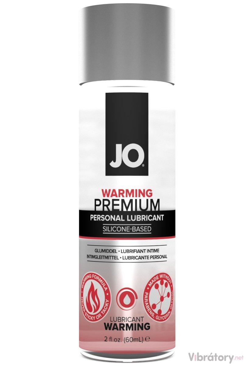 Silikonový lubrikační gel System JO Premium Warming - hřejivý, 60 ml