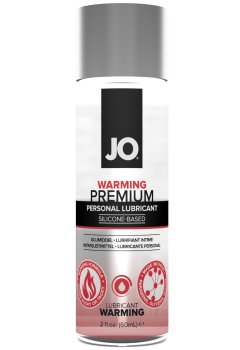 Silikonový lubrikační gel System JO Premium Warming - hřejivý – Hřejivé a dráždivé lubrikační gely (prokrvující)