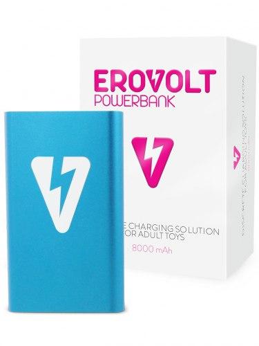 Powerbanka EroVolt PowerBank Blue, 8000 mAh