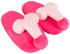 Plyšové papuče s penisem – Vzrušující, zábavné a sexy doplňky do domácnosti