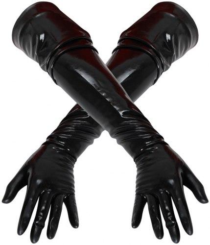 Dlouhé latexové rukavice (unisex)
