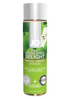 Lubrikační gel System JO H2O Zelené jablko – Lubrikační gely s příchutí (ideální na orální sex)