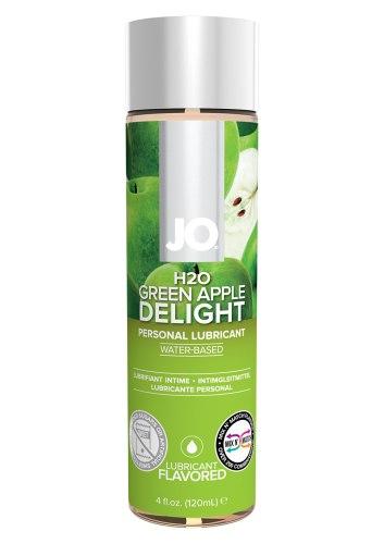 Lubrikační gel System JO H2O Zelené jablko