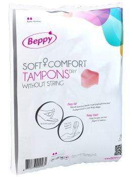 Menstruační houbičky Beppy DRY - klasické, 10 ks – Menstruační houbičky (tampony)