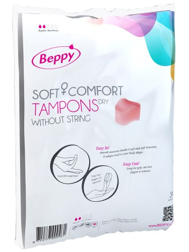 Menstruační houbičky Beppy DRY - klasické, 10 ks