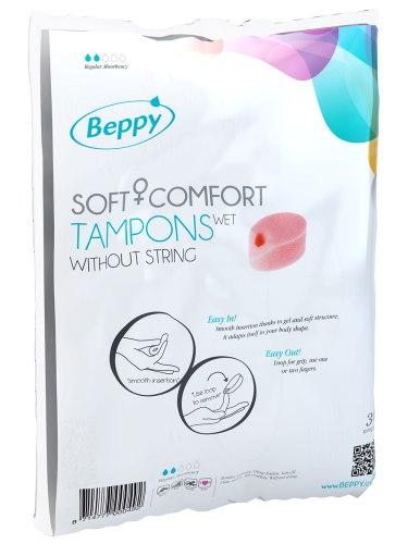 Menstruační houbičky Beppy WET - vlhčené, 10 ks