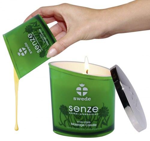 Masážní olejová svíčka Senze Vitalizing