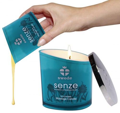Masážní olejová svíčka Senze Soothing