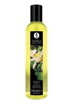 BIO Erotický masážní olej Green Tea Organica – Erotické masážní oleje a emulze