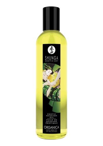 BIO Erotický masážní olej Green Tea Organica