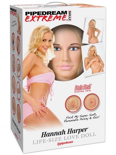 Nafukovací panna Hannah Harper