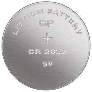 Knoflíková baterie CR2032, lithiová – Baterie do erotických pomůcek a powerbanky