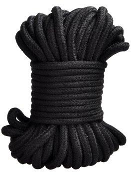 Lano na bondage, 20 m (černé) – Pomůcky pro úchvatnou bondage (svazování)