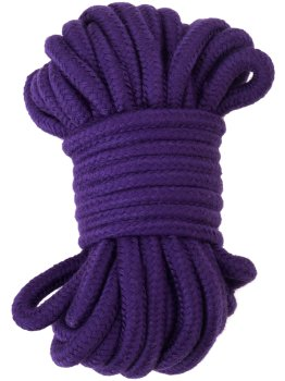 Lano na bondage, 20 m (fialové) – Pomůcky pro úchvatnou bondage (svazování)