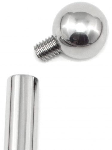 Dilatátor - třístupňový s kuličkou (dutý), 6-9 mm