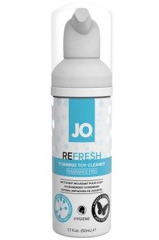 Čisticí pěna na erotické pomůcky System JO Refresh Toy Cleaner, 50 ml – Dezinfekce a čistění pomůcek