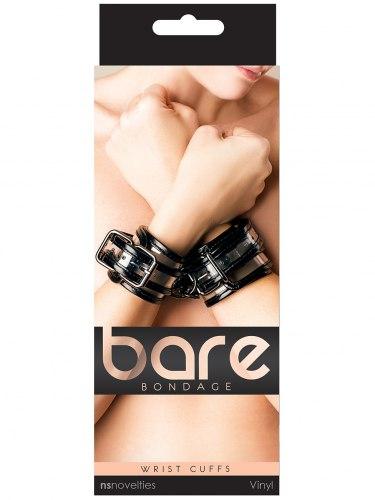 Transparentní pouta na ruce Bare Bondage