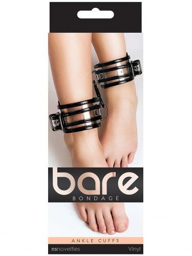 Transparentní pouta na nohy Bare Bondage