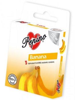 Kondomy Pepino Banán – Kondomy s příchutí na orální sex