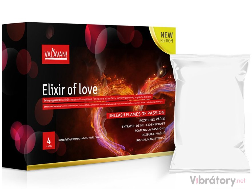 Valavani Elixir of love 4 sáčky á 5.28mg