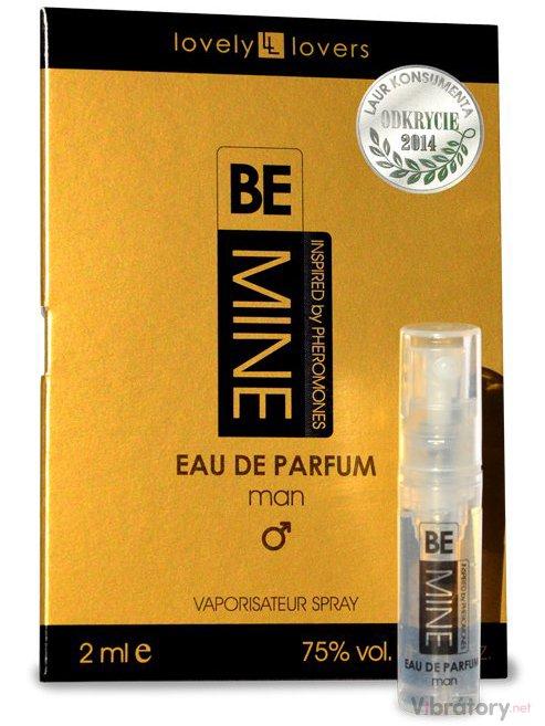 Levně Parfém s feromony pro muže Lovely Lovers BeMINE - VZOREK, 2 ml