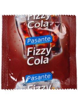Kondom Pasante Fizzy Cola – Kondomy s příchutí na orální sex