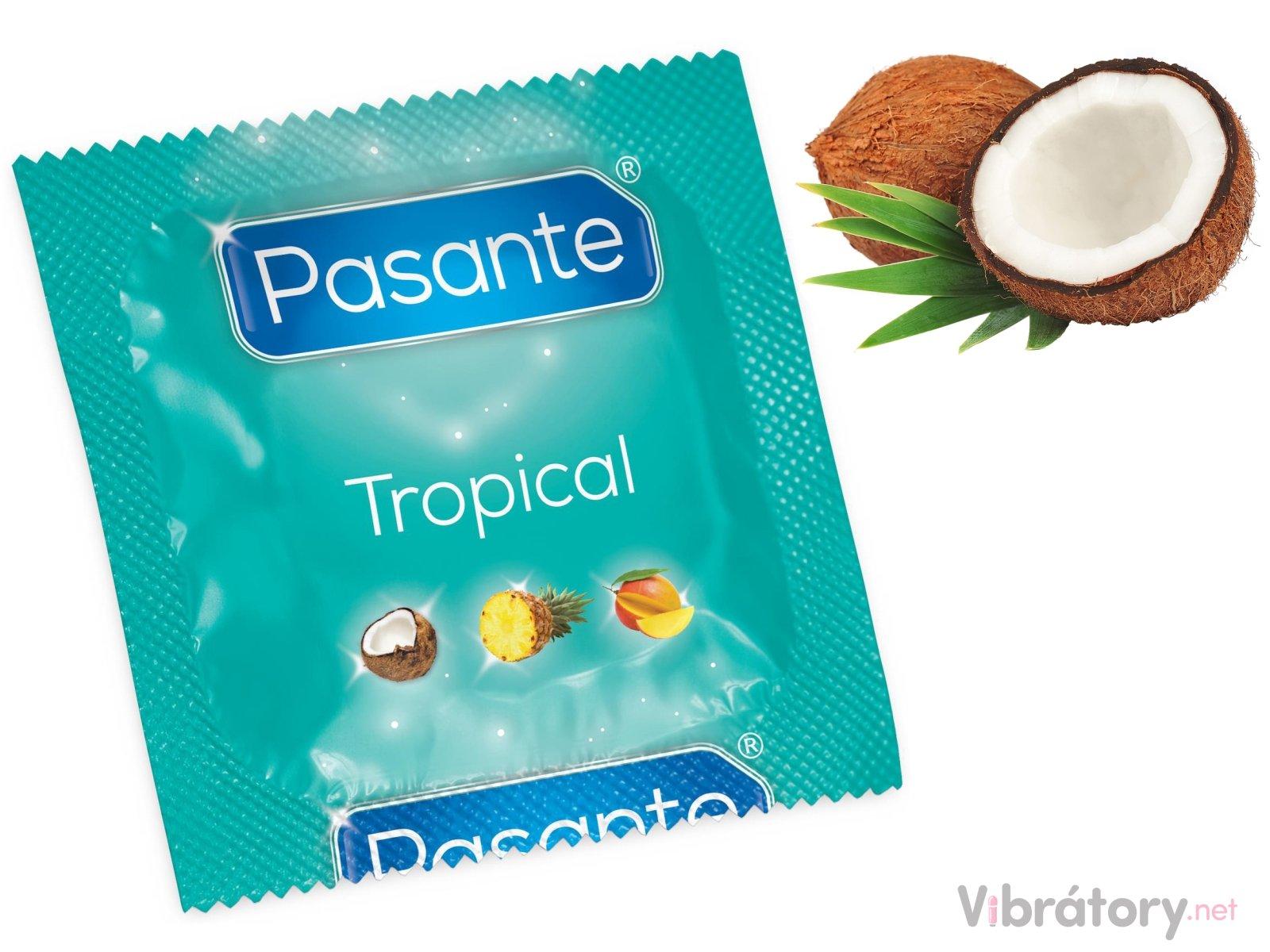 Pasante Kondom Tropical Coconut - kokos, 1 ks