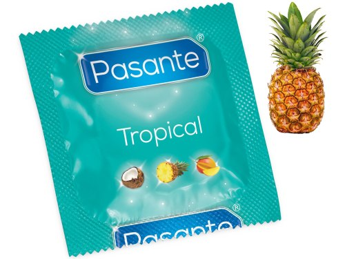 Kondom Pasante Tropical Pineapple - ananas