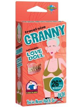 Nafukovací babička GRANNY (cestovní velikost) – Nafukovací panny