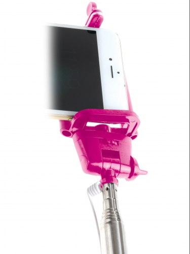 Rozkošná selfie tyč Dicky - s rukojetí ve tvaru penisu
