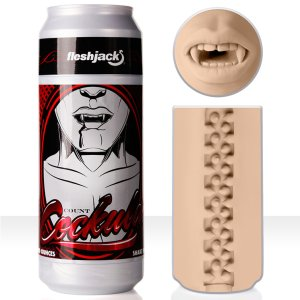 Umělá ústa Fleshjack COUNT COCKULA – Umělé zadečky a ústa Fleshlight