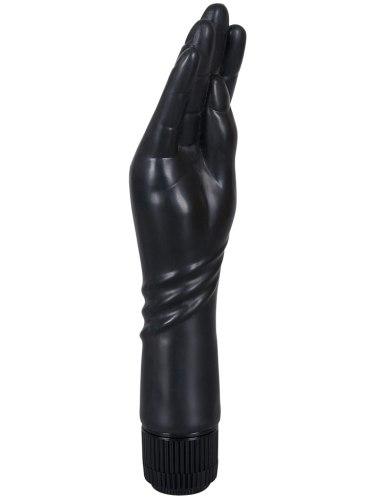 Vibrátor ve tvaru ruky The Black Hand