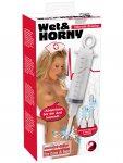 Intimní sprcha Wet&HORNY - stříkačka