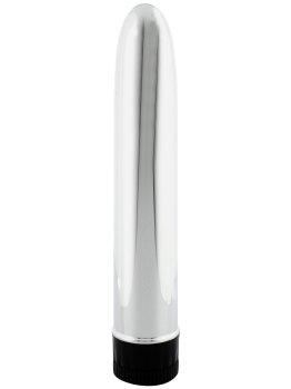 Stříbrný milenec (19 cm) – Klasické vibrátory