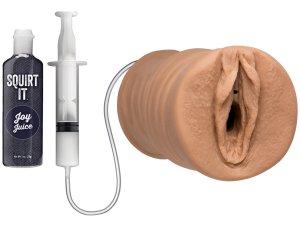 Stříkající vagina Squirt It Pussy – Nevibrační umělé vaginy