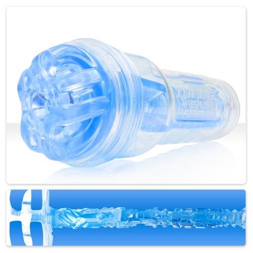 Simulátor orálního sexu Turbo Ignition Blue Ice