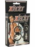 Vibrační erekční kroužek XFACTOR na penis a varlata