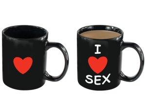 Kouzelný hrnek I LOVE SEX – Vzrušující, zábavné a sexy doplňky do domácnosti