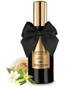 Masážní olej Aphrodisia - ylang-ylang, růže a jasmín – Erotické masážní oleje a emulze