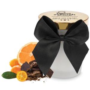 Masážní svíčka Melt My Heart - hořká čokoláda a citrus – Svíčky pro uvolňující i erotickou masáž