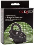 Natahovač varlat se závažím a erekčním kroužkem C-Ring Ball Stretcher