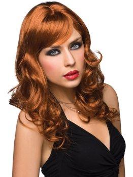Paruka Aubrey - zrzavá – Paruky a příslušenství k parukám