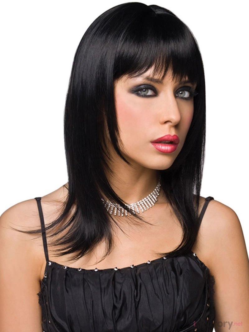 Pleasure Wigs Paruka Steph - černá