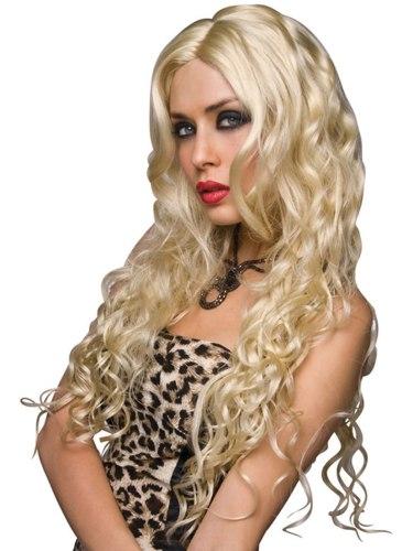 Paruka Jennifer - platinová blond